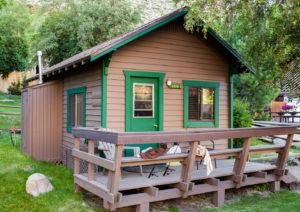 Bishop creek lodge cabin 1