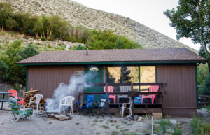 Bishop creek lodge Rainbow Trout cabin
