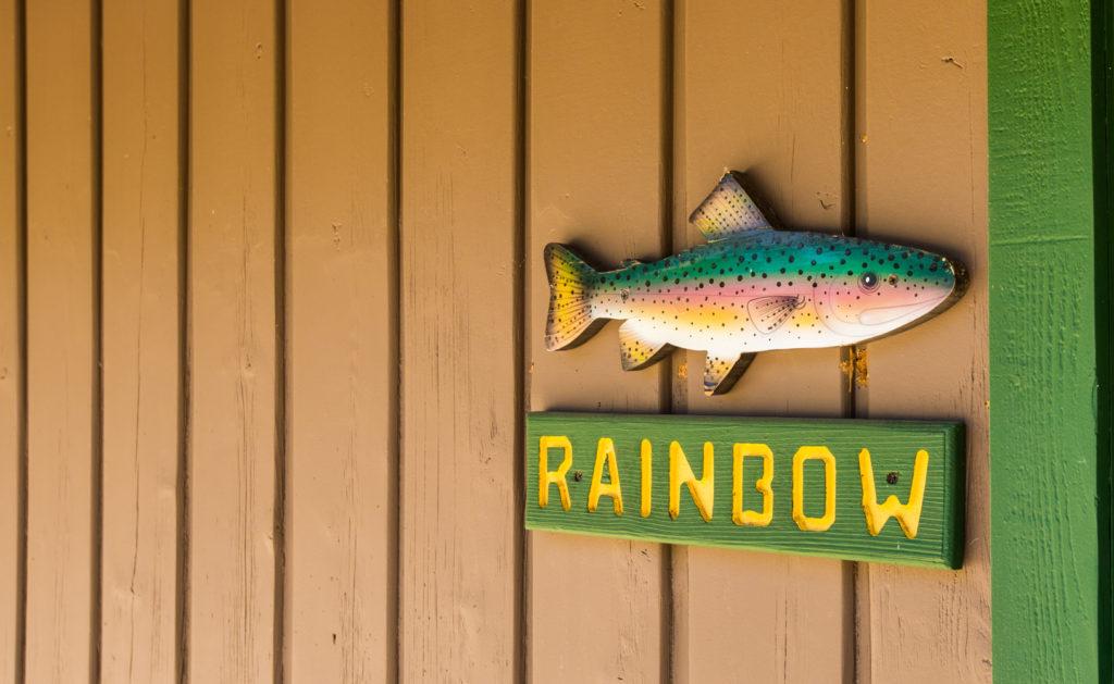 Bishop Creek Lodge Rainbow Cabin