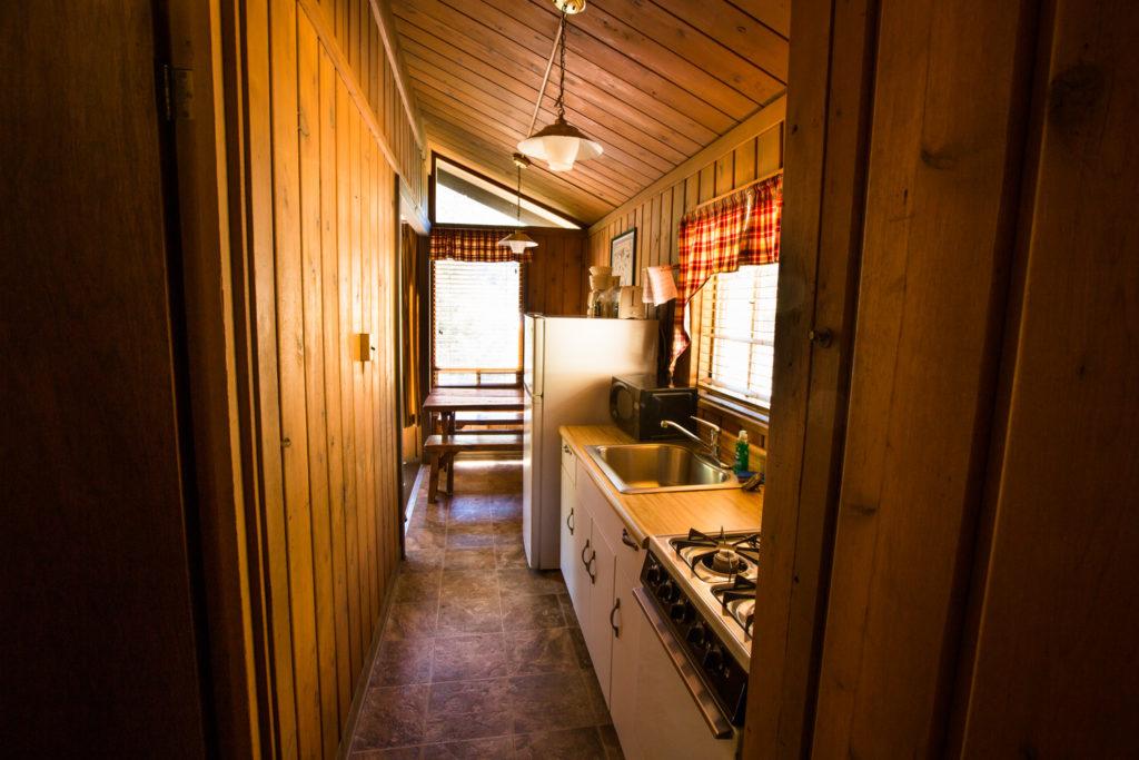 Brook Cabin kitchen