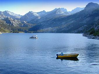 Fishing on South Lake